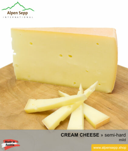 CREAM CHEESE - MILD TASTE - medium hard