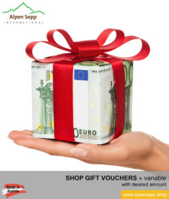Gourmet shop gift vouchers variable