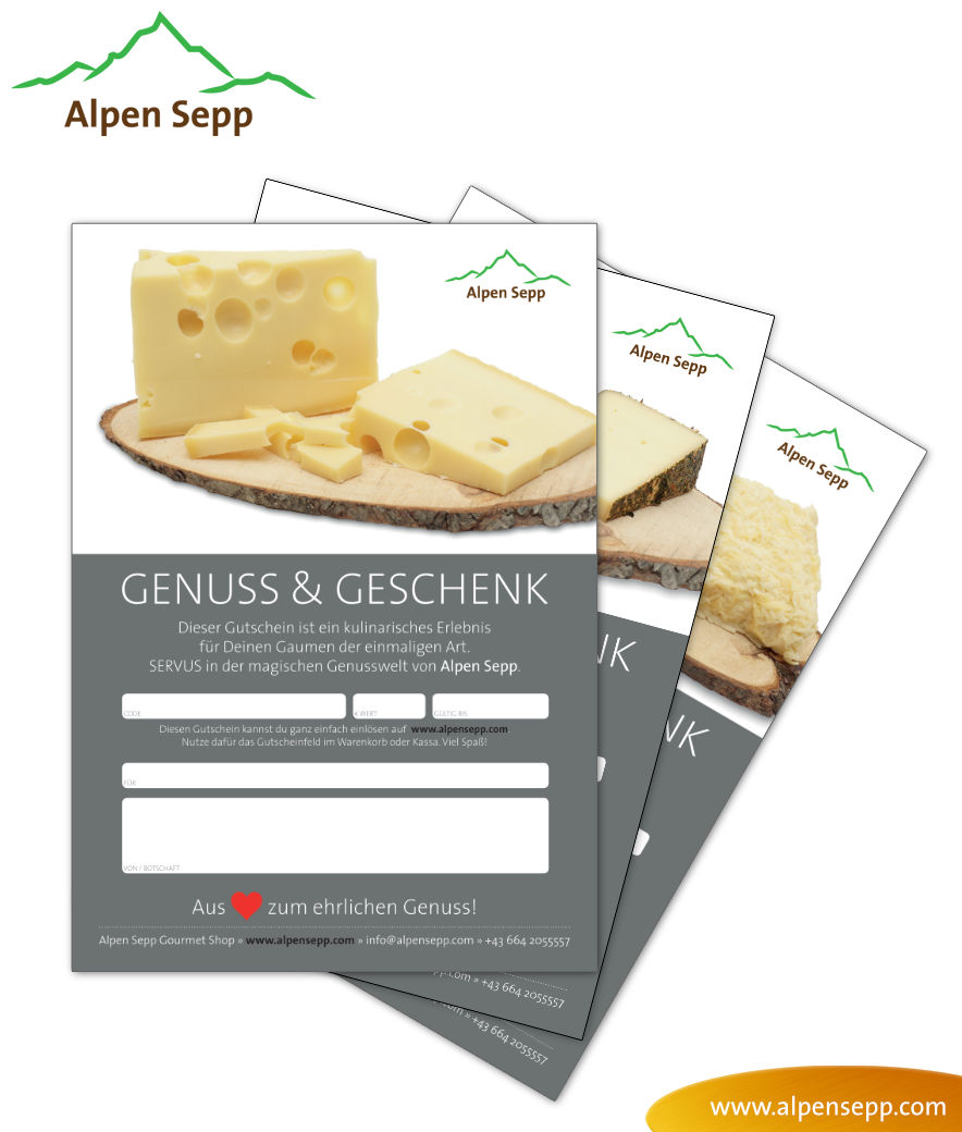 Vouchers of Alpen Sepp to print out