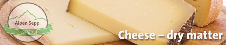 Cheese dry matter