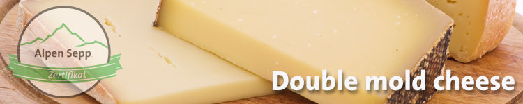 Double mold cheese