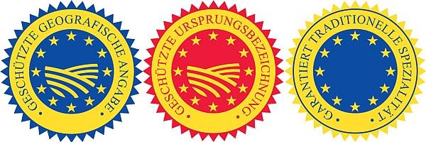 The three EU seals of protection