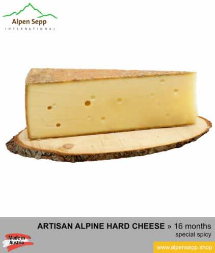 ALPINE HARD CHEESE special spicy
