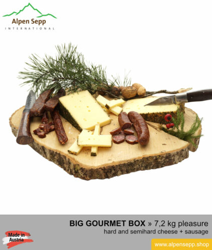 BIG gourmet box - premium sausage and cheese specialty