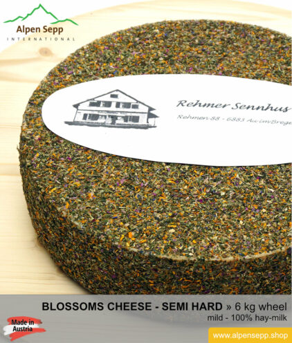 Blossoms cheese wheel - 6 kg - mild