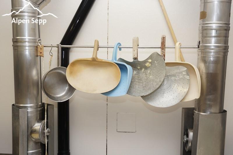 Tools of the alpine dairyman