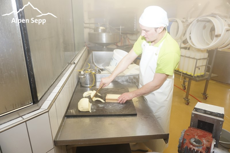 Hand made butter forming