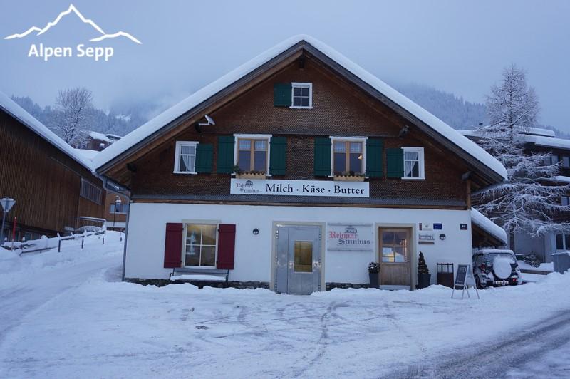 Sennhuus Rehmen dairy in Au - Bregenzerwald