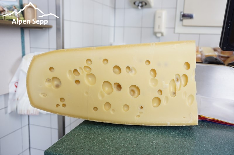 The holes in Emmental Cheese