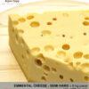 Emmental cheese piece - 6 kg - mild