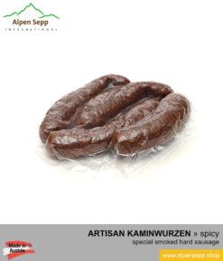 Artisanal Kaminwurzen sausage