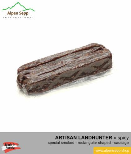 Landhunter sausage - special smoked hard sausage