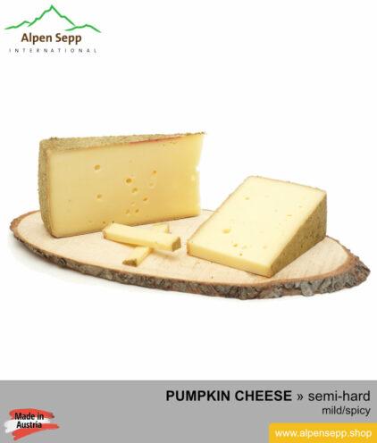 PUMPKIN CHEESE - MILD/SPICY TASTE - semi hard cheese