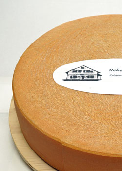 Artisan alpine cheese - mild - 4 months ripened / matured