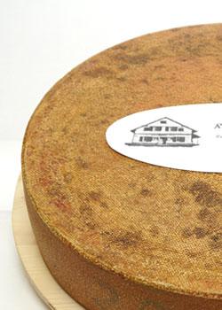 Artisan alpine cheese - spicy - 8 months ripened / matured