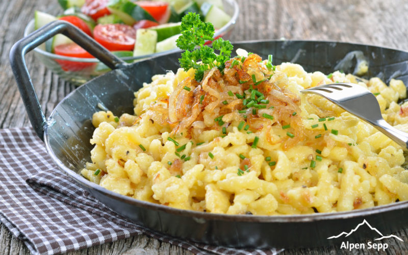 Cheese spaetzle receipe - cheese noodles