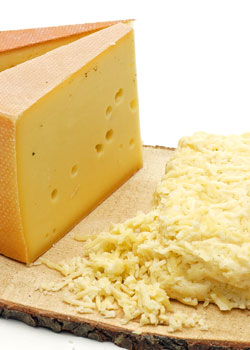 Grated cheese mixture