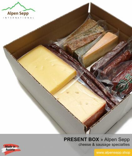 Alpen Sepp present box - chesse and sausage