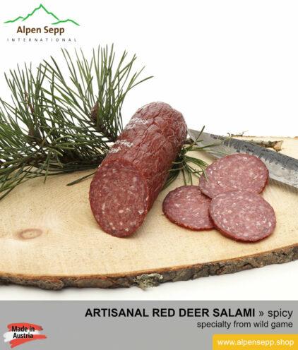 Special red deer salami