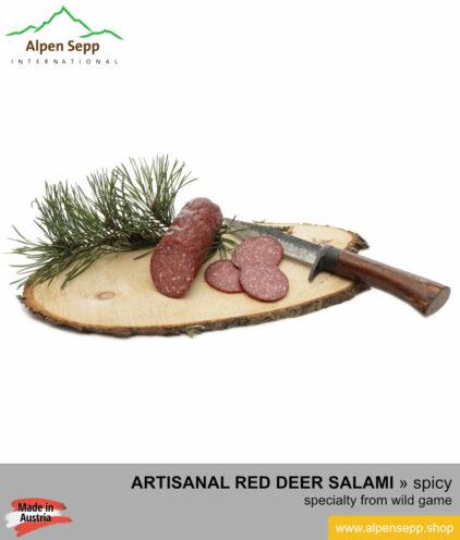 Red deer salami