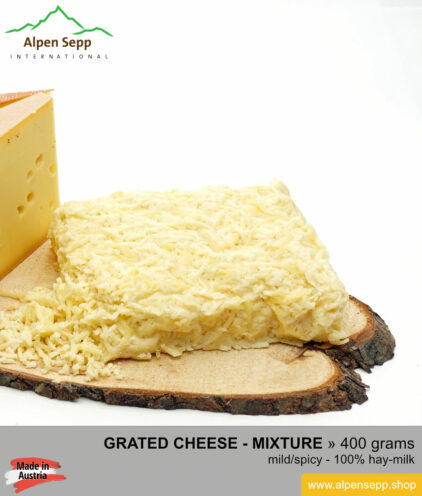 Grated cheese mixture 400 grams