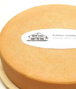 Whole cheese wheel