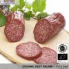 Artisanal organic beef salami - 100% beef meat