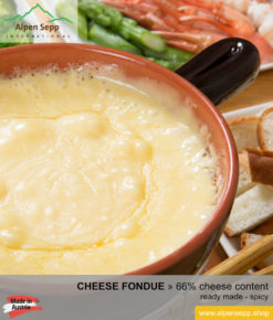 Cheese fondue - ready to use cheese fondue