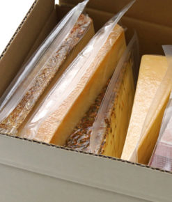 Cheese test packages