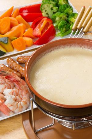 Vielseitige Zutaten fürs Käsefondue