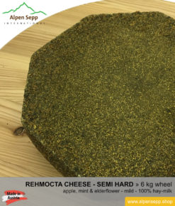 Rehmocta diedo cheese wheel - 6 kg - mild
