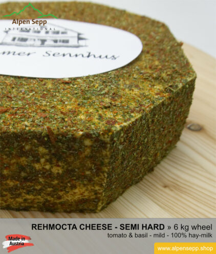 Rehmocta ilga cheese wheel - 6 kg - mild/spicy