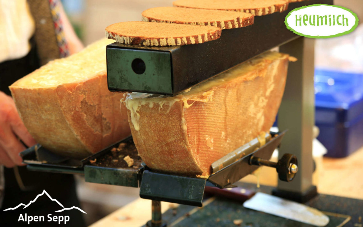 Raclette cheese spicy for gas appliances and electrical appliances