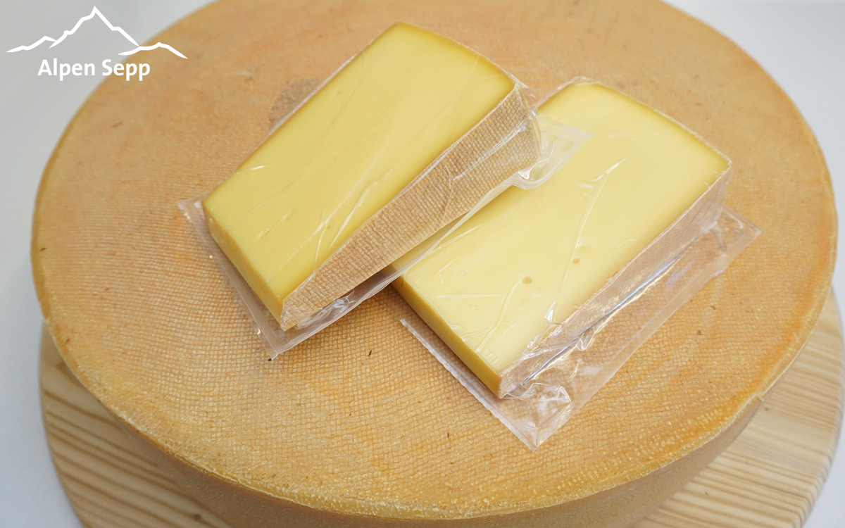 Divide the whole cheese wheel into cheese pieces or cut them into pieces