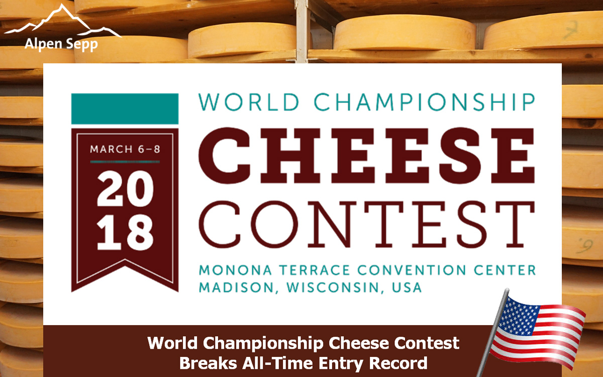 World Champion Cheese Contest 2018 - USA - Wisconsin