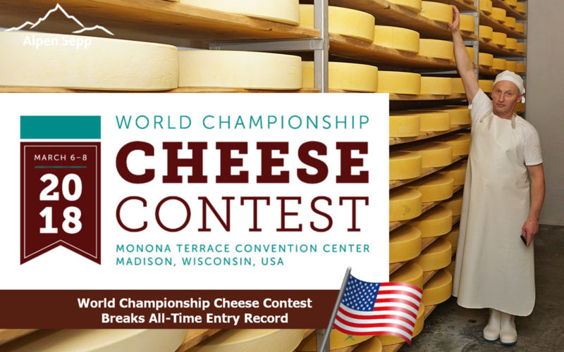 Rehmer Sennhus World Championship Cheese Contest USA - Wisconsin 2018