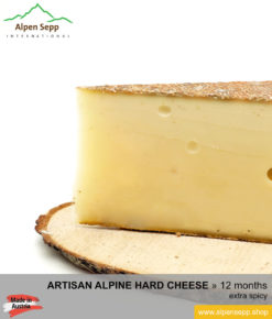 ALPINE HARD CHEESE extra spicy