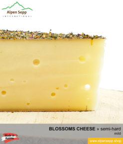 BLOSSOMS CHEESE - MILD TASTE - semi hard cheese