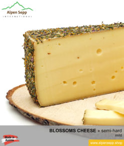 BLOSSOMS CHEESE - MILD TASTE - semi hard cheese