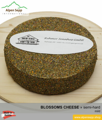 BLOSSOMS CHEESE WHEEL - MILD TASTE - semi hard cheese
