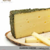 ARTISAN RAMSON CHEESE - MILD/SPICY TASTE - semi hard cheese