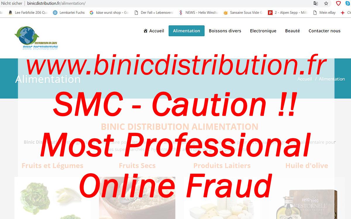 Caution binicdistribution.fr scam crime